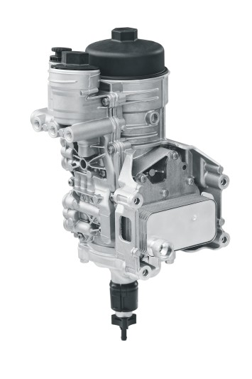 MAHLE fuel filter module for commercial vehicles