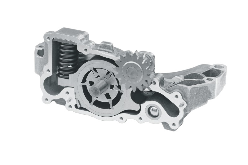MAHLE pendulum-slider oil pump for commercial vehicles